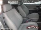 Mitsubishi Colt серый кож.зам с красными строчками_4